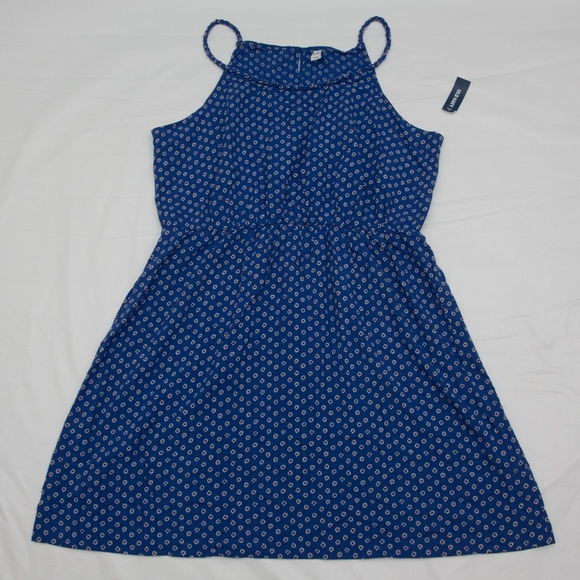 Old Navy Dresses & Skirts - Royal blue floral print sundress spaghetti strap
